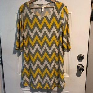 Tacera Chevron Dress